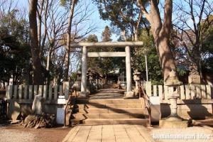 碑文谷八幡神社(目黒区碑文谷)6