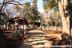 碑文谷八幡神社(目黒区碑文谷)7