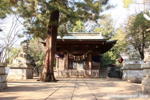 碑文谷八幡神社(目黒区碑文谷)9
