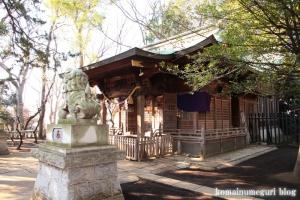 碑文谷八幡神社(目黒区碑文谷)14