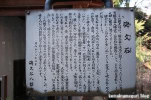 碑文谷八幡神社(目黒区碑文谷)16