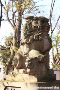 碑文谷八幡神社(目黒区碑文谷)12