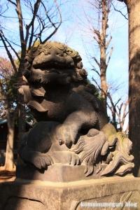 碑文谷八幡神社(目黒区碑文谷)27