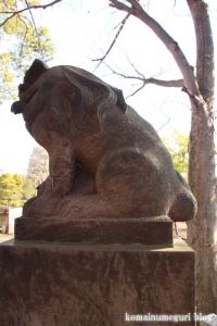碑文谷八幡神社(目黒区碑文谷)32