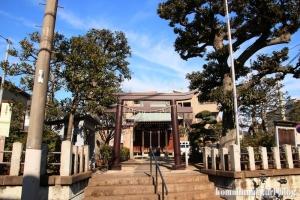 桜森稲荷神社(目黒区平町)1