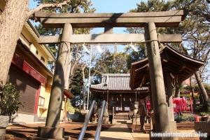 八幡神社(大田区田園調布)4
