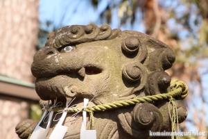 八幡神社(大田区田園調布)19