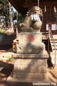 八幡神社(大田区田園調布)13