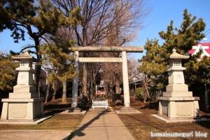 天祖神社(世田谷区中町)1