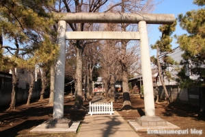 天祖神社(世田谷区中町)2