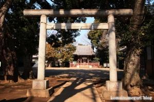 天祖神社(世田谷区中町)6