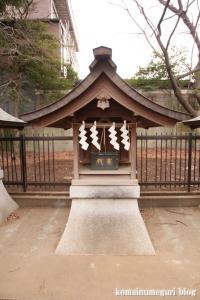 宇山稲荷神社(世田谷区桜丘)15