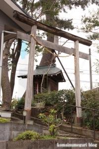 大蔵庚申神社(世田谷区大蔵)2
