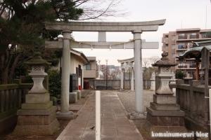 横根稲荷神社(世田谷区大蔵)1