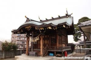 横根稲荷神社(世田谷区大蔵)10