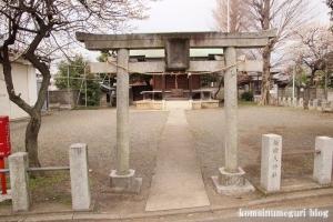 天神社(世田谷区鎌田)1