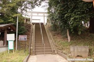 氷川神社(世田谷区大蔵)1