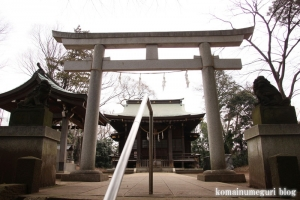 氷川神社(世田谷区大蔵)5