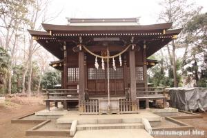 氷川神社(世田谷区大蔵)8