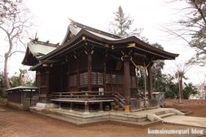 氷川神社(世田谷区大蔵)9