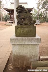氷川神社(世田谷区大蔵)17