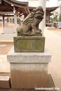 氷川神社(世田谷区大蔵)21