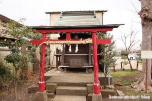 稲荷神社(世田谷区喜多見)6