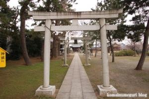 宇奈根氷川神社(世田谷区宇奈根)4