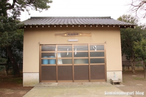 宇奈根氷川神社(世田谷区宇奈根)9