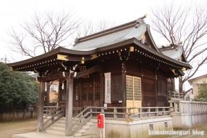 宇奈根氷川神社(世田谷区宇奈根)15