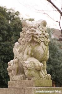 宇奈根氷川神社(世田谷区宇奈根)12
