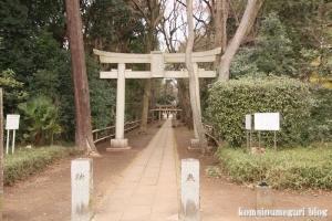 喜多見氷川神社(世田谷区喜多見)1