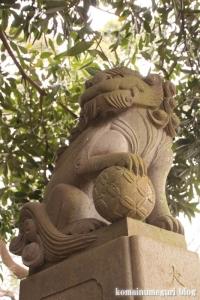 喜多見氷川神社(世田谷区喜多見)46
