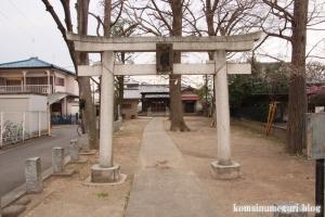 日枝神社(狛江市駒井町)1