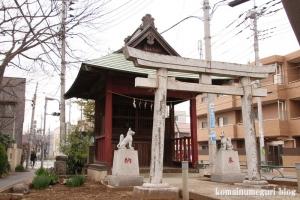 白幡菅原神社(狛江市猪方)8