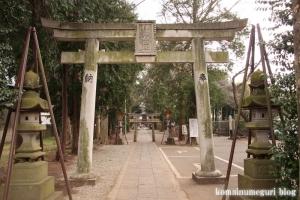 伊豆美神社(狛江市中和泉)4