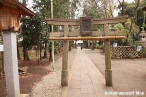 伊豆美神社(狛江市中和泉)6