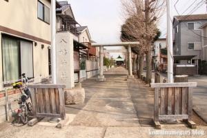 八幡神社(狛江市西野川)1