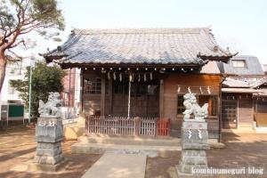 子之権現三島神社(狛江市西野川)7