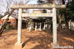 金子稲荷神社(調布市西つつじヶ丘)1