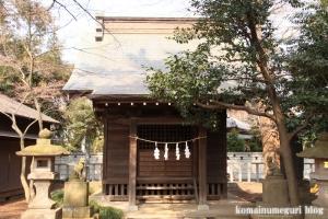 金子稲荷神社(調布市西つつじヶ丘)2
