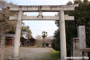 愛宕神社(羽生市上新郷)1