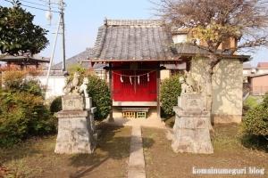 御蔵場稲荷神社(羽生市上新郷)4