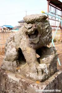 愛宕社(羽生市砂山)14