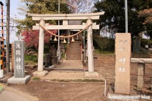 古江宮田神社(羽生市西)1