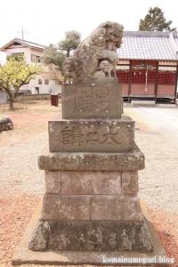 天神社(羽生市上新郷)13