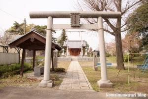 八幡社(羽生市桑崎)1