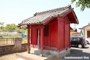 稲荷神社(越谷市東町)6