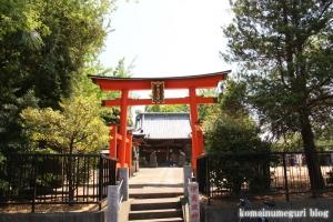 伊南理神社(越谷市東町)1