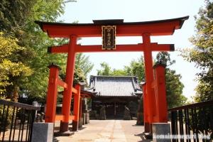 伊南理神社(越谷市東町)2
